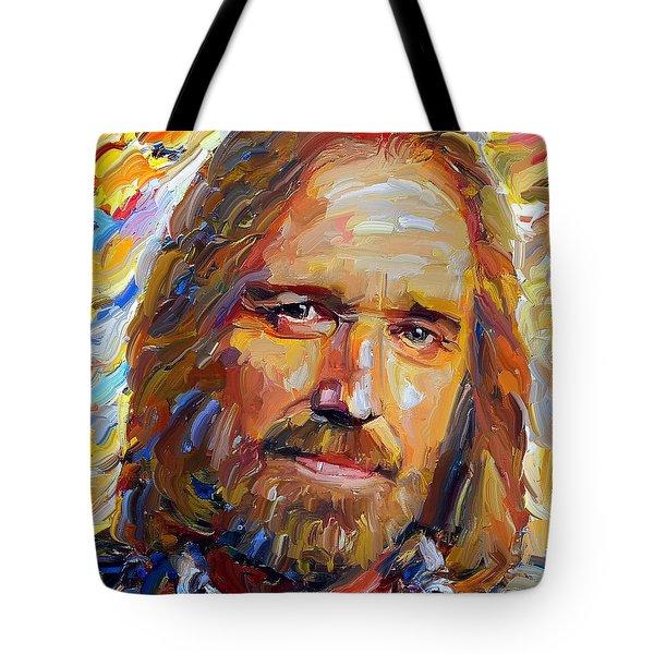 Tom Petty Tribute Portrait 1 Tote Bag