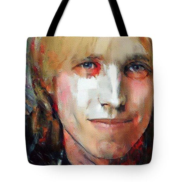 Tom Petty Tribute Portrait 3 Tote Bag