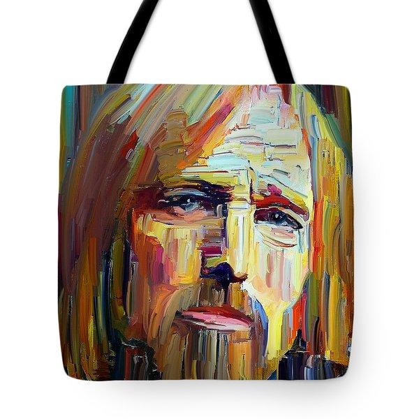 Tom Petty Tribute Portrait 4 Tote Bag