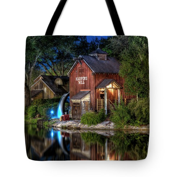 Tom Sawyers Harper's Mill Tote Bag