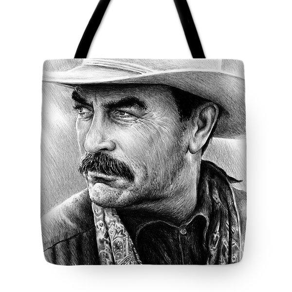 Tom Selleck Tote Bag