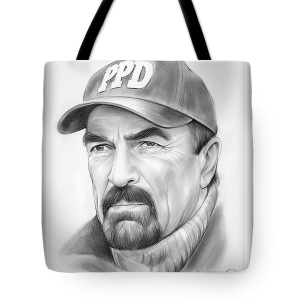 Tom Selleck Tote Bag