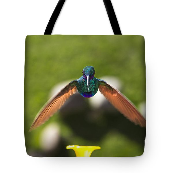 Tom Thumb Says Happy New Year Tote Bag by Al Bourassa