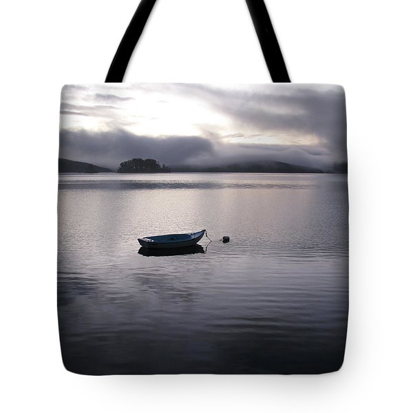 Tomales Bay At Sunset Tote Bag by Dianne Levy