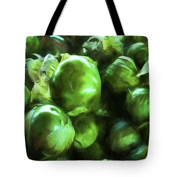 Tomatillo 2 Tote Bag by Travis Burgess