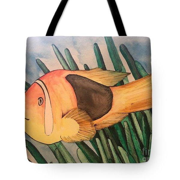 Tomato Clown Fish Tote Bag