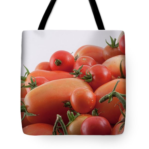Tote Bag featuring the photograph Tomato Hill by James BO Insogna