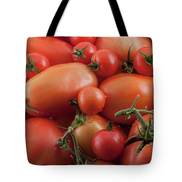 Tote Bag featuring the photograph Tomato Mix by James BO Insogna
