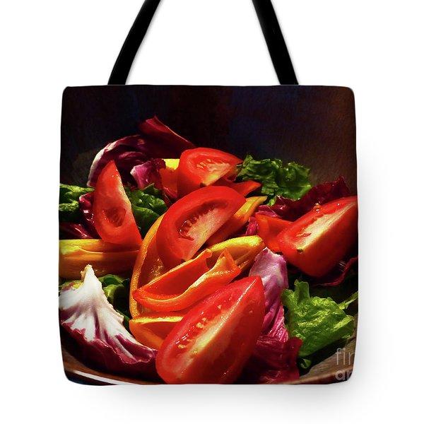 Tomato Salad Tote Bag