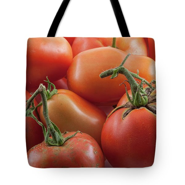 Tote Bag featuring the photograph Tomato Stems by James BO Insogna