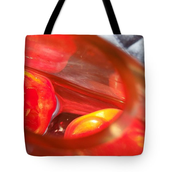 Tomatoe Red Tote Bag