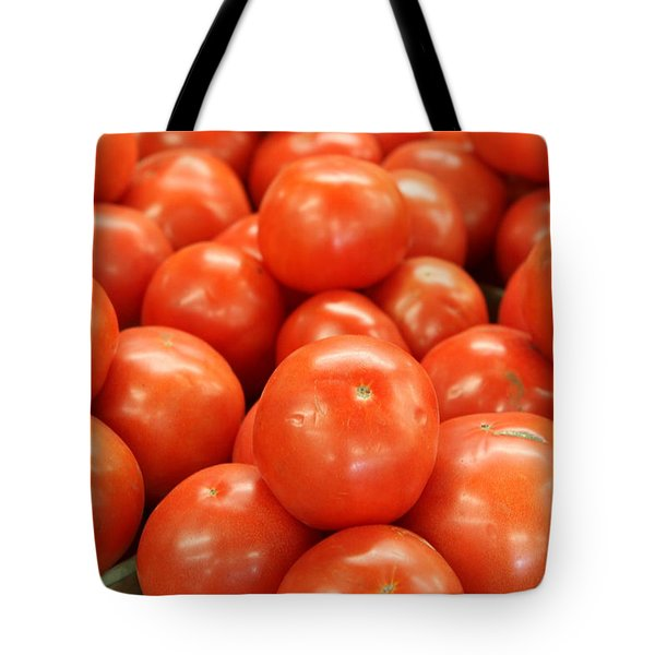 Tomatoes 247 Tote Bag by Michael Fryd