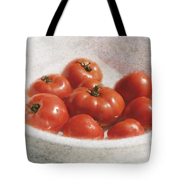 Tomatos Tote Bag by George Robinson