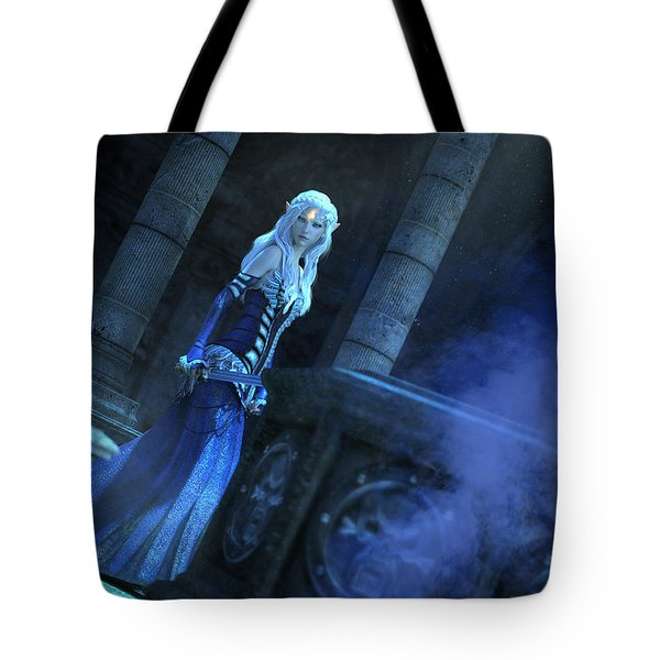 Tomb Of Shadows Tote Bag