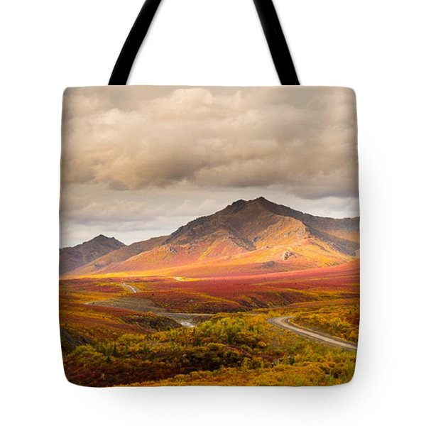 Tombstone Territorial Park Yukon Tote Bag by Rod Jellison