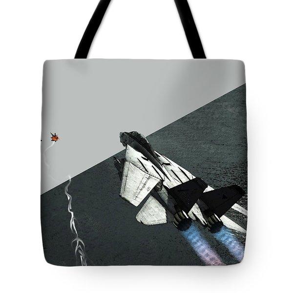 Tomcat Kill Tote Bag