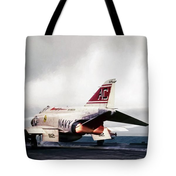 Tomcatter Launch Tote Bag