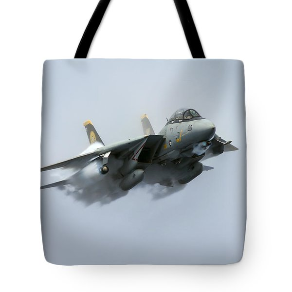 Tomcatters Broke The Sound Barrier Tote Bag