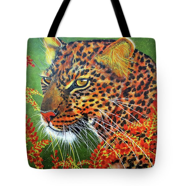Tommy Tote Bag by Debbie Chamberlin