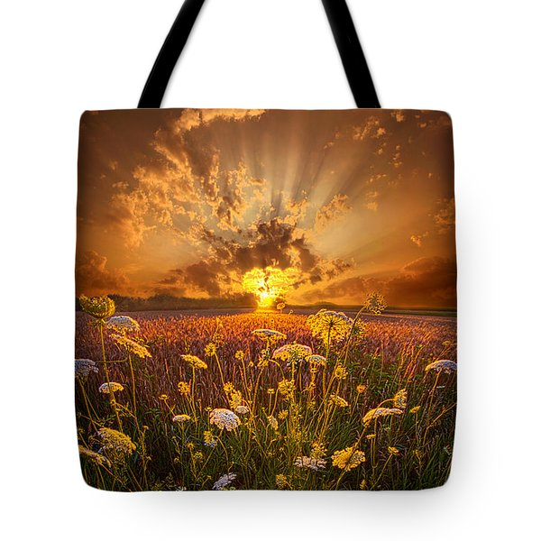 Tomorrow Is Just One Of Yesterday's Dreams Tote Bag