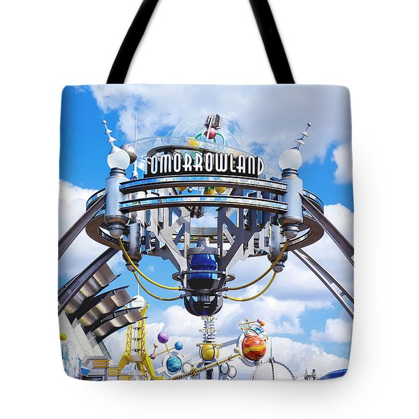 Tote Bag featuring the photograph Tomorrowland by Greg Fortier