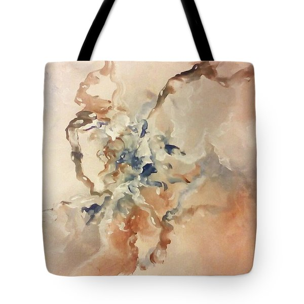 Tote Bag featuring the painting Tomorrows Dream by Raymond Doward