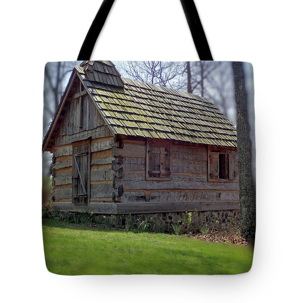 Tom's Country Church And School Tote Bag