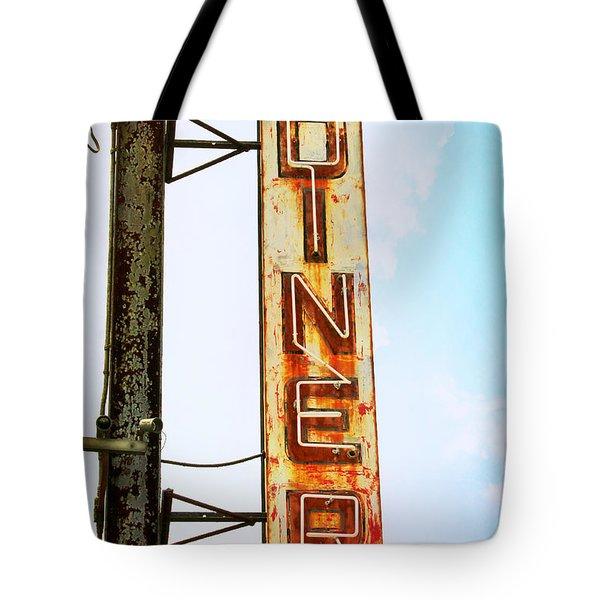 Tom's Diner Tote Bag