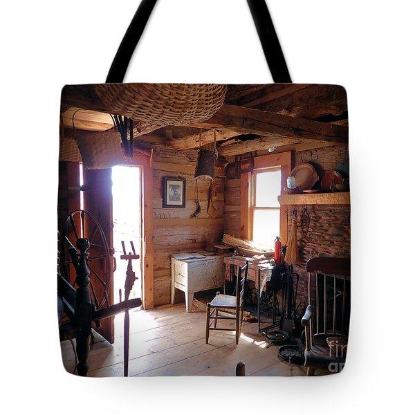 Tom's Old Fashion Cabin Tote Bag