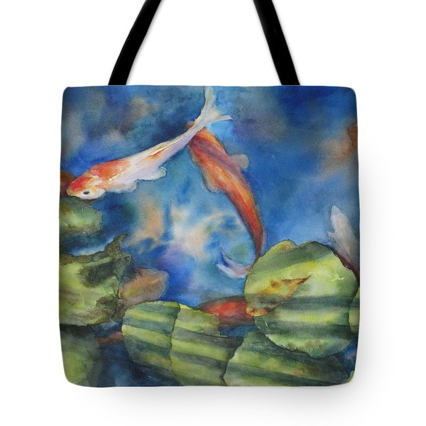 Tom's Pond Tote Bag by Mary McCullah