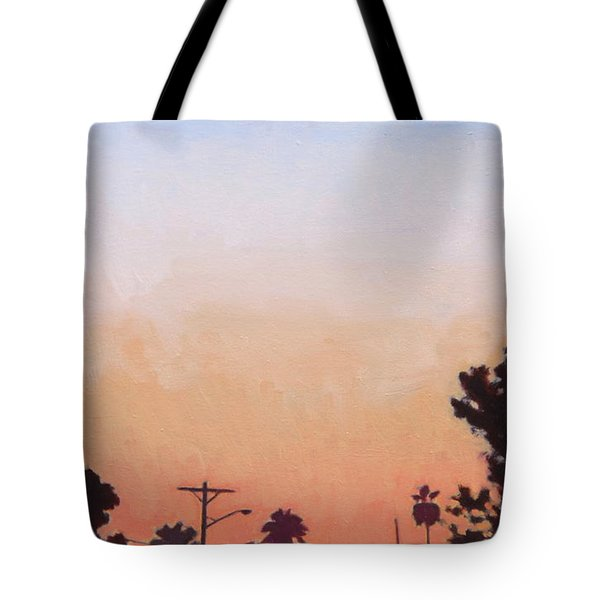 Tonal Hollywood Tote Bag by Andrew Danielsen
