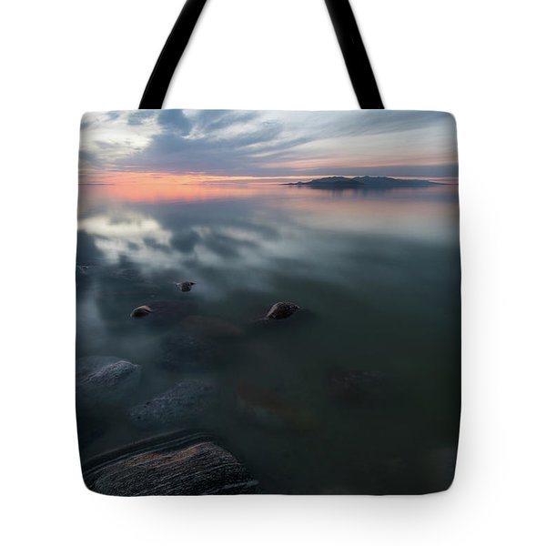 Tonal Sunset II Tote Bag by Justin Johnson