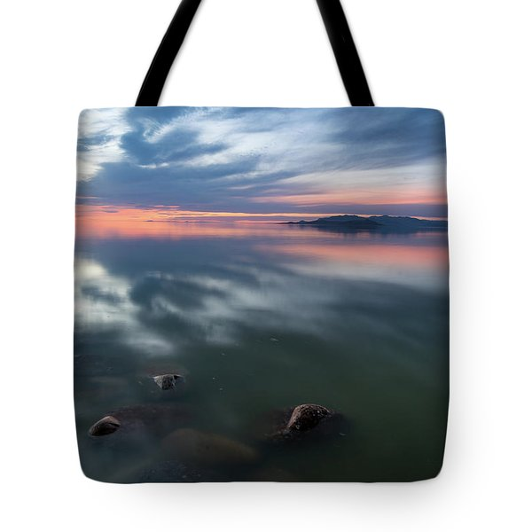 Tonal Sunset Tote Bag by Justin Johnson