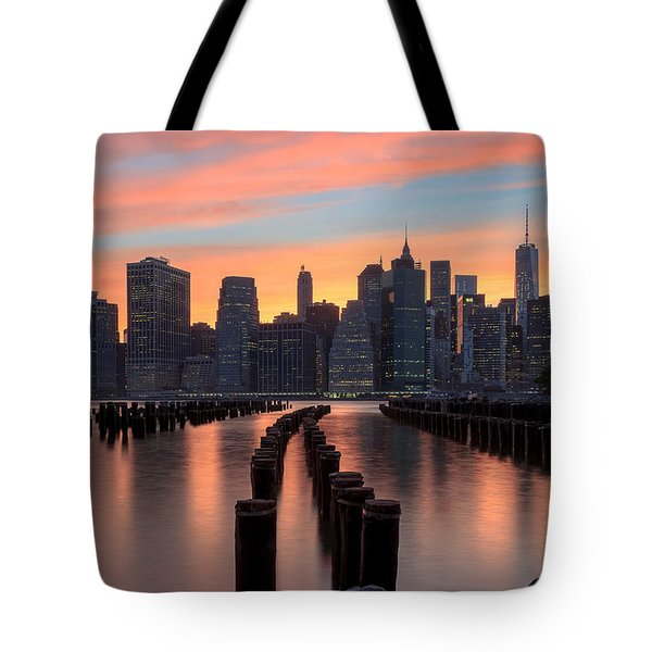 Tones Tote Bag by Anthony Fields