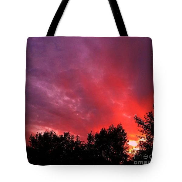 Tonight Tote Bag