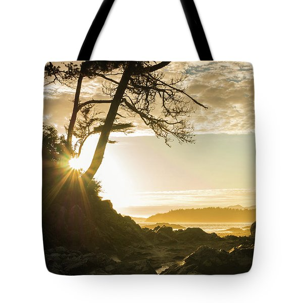 Tonquin Beach Tote Bag by Crystal Hoeveler