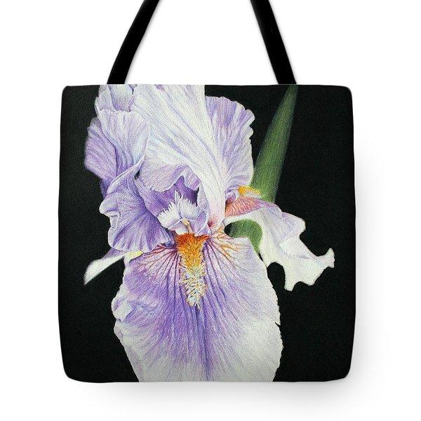 Tonto Basin Iris Tote Bag