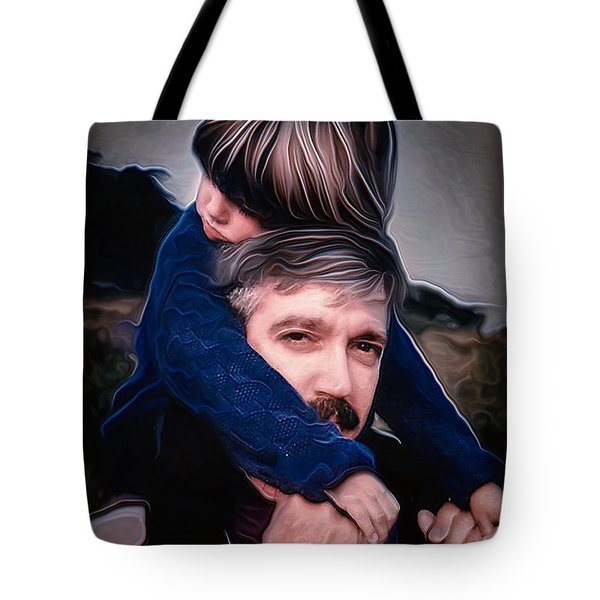 Tony And Rachel Tote Bag