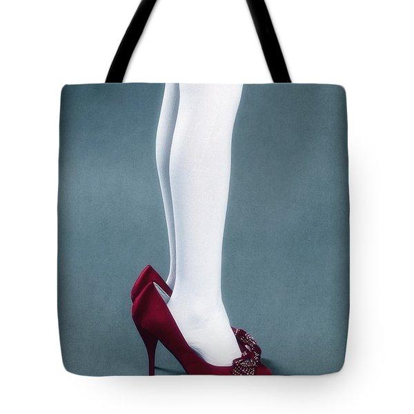 Too Big Shoes Tote Bag by Joana Kruse