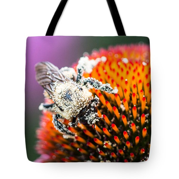 Tote Bag featuring the photograph Too Heavy To Fly by Cathy Donohoue