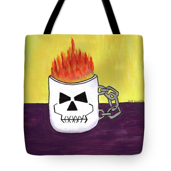 Too Hot To Handle Tote Bag