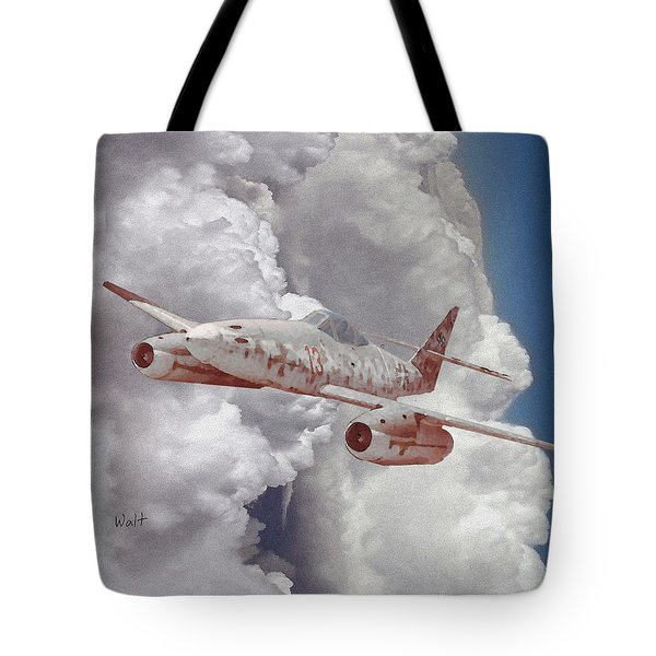 Tote Bag featuring the digital art Too Little, Too Late by Walter Chamberlain