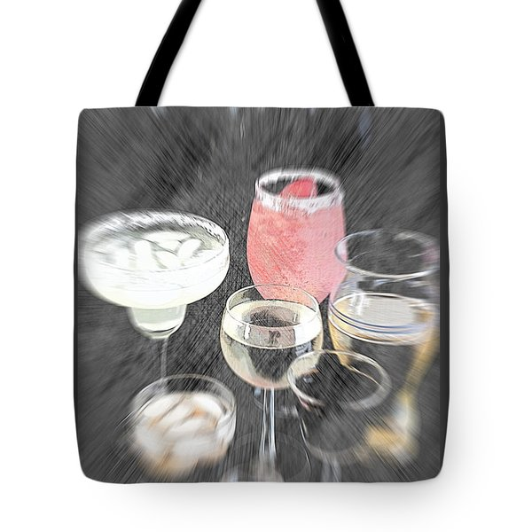 Tote Bag featuring the photograph Too Many To Drive by Sherry Hallemeier