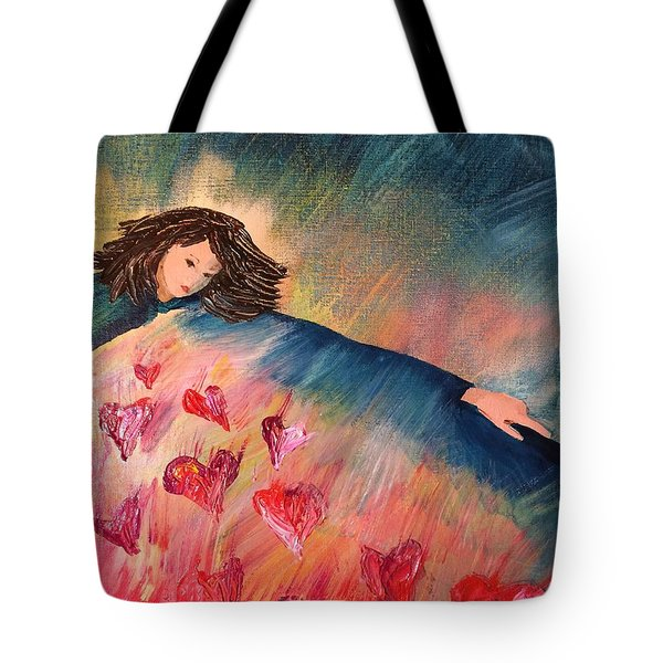 Too Much Love To Contain Tote Bag