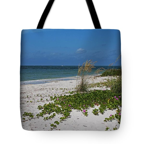 Tote Bag featuring the photograph Too Much Space Between Us by Michiale Schneider