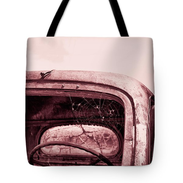 Tote Bag featuring the photograph Too Old To Drive by Mary Hone