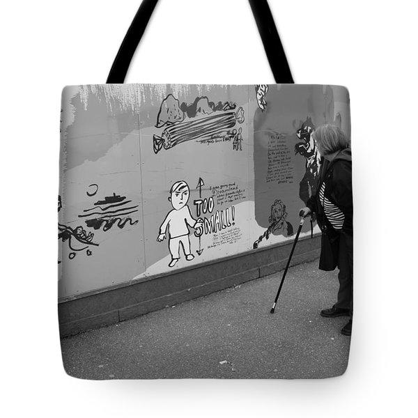Too Small Tote Bag