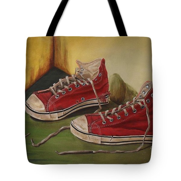 Took Off My Old Shoes To Walk On A New Path Tote Bag