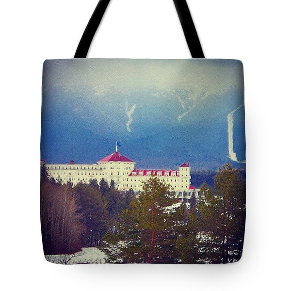 Foot Of The Mountain  Tote Bag