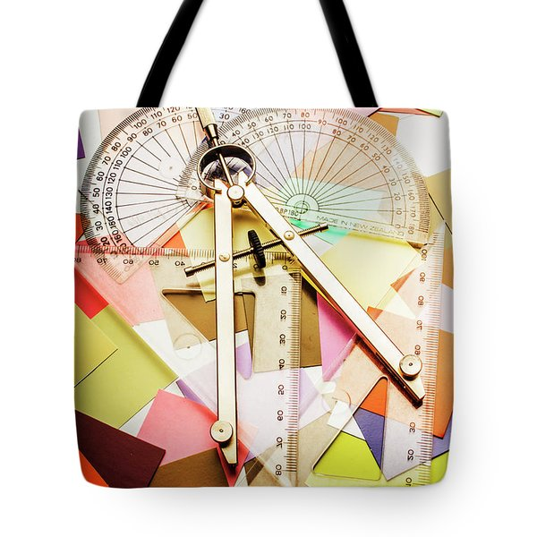 Tools Of Architectural Design Tote Bag